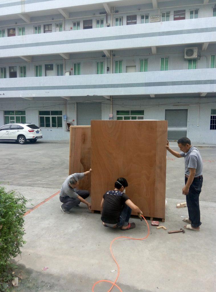 UV-B紫外线耐候试验箱发货